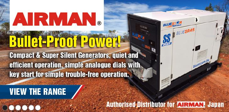airman generator range- authorised distrobutor